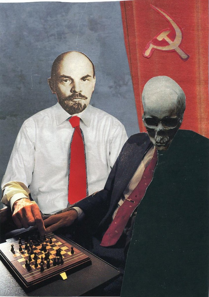 Lenin Plays Chess