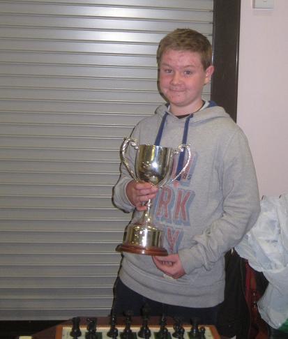 Luke Keenan, winner of the 2014 Galway Minor tournament